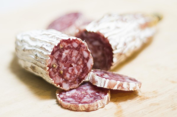 Black Pig's saucisson - TOM PERKINS