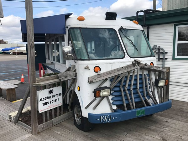 This is not the food truck in question, but it is a food truck at Mike's on the Water. - FACEBOOK/MIKE'S ON THE WATER