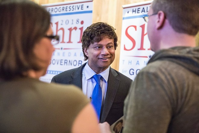 Democrat gubernatorial candidate Shri Thanedar. - FACEBOOK
