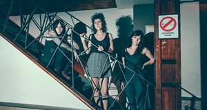 The Coathangers' Julia Kugel talks safe spaces, punching people in the face