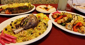 Middle East side: Ali Baba Shish Kabob