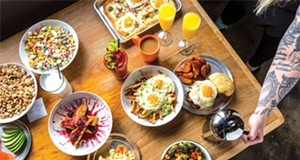 The brunch craze has finally conquered all comers in the Motor City