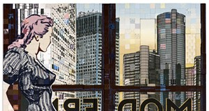 NYC-based art duo Faile set their sights on Detroit