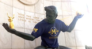 What if the University of Michigan never left Detroit?