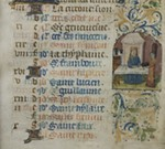 New at UMMA: Illuminated Manuscript