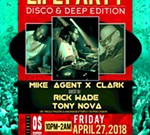 "Mike ""Agent X"" Life Party Disco & Deep wsg DJ Rick Wade"