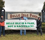 Rally to Protest the Grand Prix on Belle Isle
