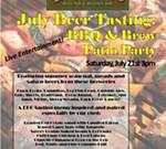 BBQ & Brew Patio Party
