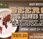 August Beer Tasting