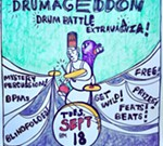 Jamie Cherry's Drumageddon Drum Battle Extravaganza !!!!