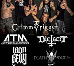Grimm Trigger w/ After The Minor, Die-Sect, Iron Belly & more