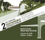 Sustainable Detroit Forum