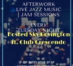 Tuesday Night with Sky Covngton and Club Crescendo