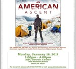 """An American Ascent"" film screening & panel discussion"