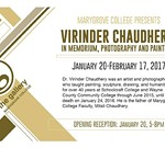 Virinder Chaudhery:  In Memorium, Photography and Paintings