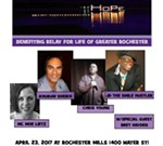4th Annual Conquering Cancer One Laugh at a Time Comedy Event benefiting Greater Rochester Relay for Life