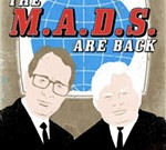 THE MADS Live Movie-Riffing with MST3K's Frank Conniff and Trace Beaulieu