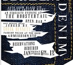 Decadent Denim- Auto Show after party!