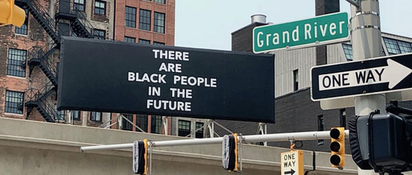 Ingrid LaFleur's Afrofuturist 'Manifest Destiny' makes it clear the future is Black