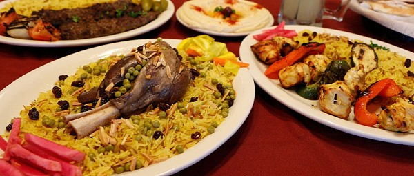 Middle East side: Ali Baba Shish Kabob