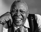 South African trumpet legend Hugh Masekela performs with Larry Willis