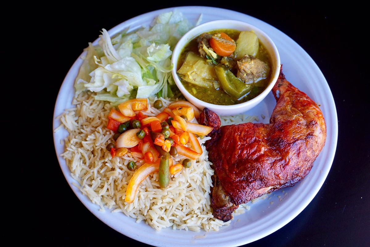Jubba's chicken dish.
