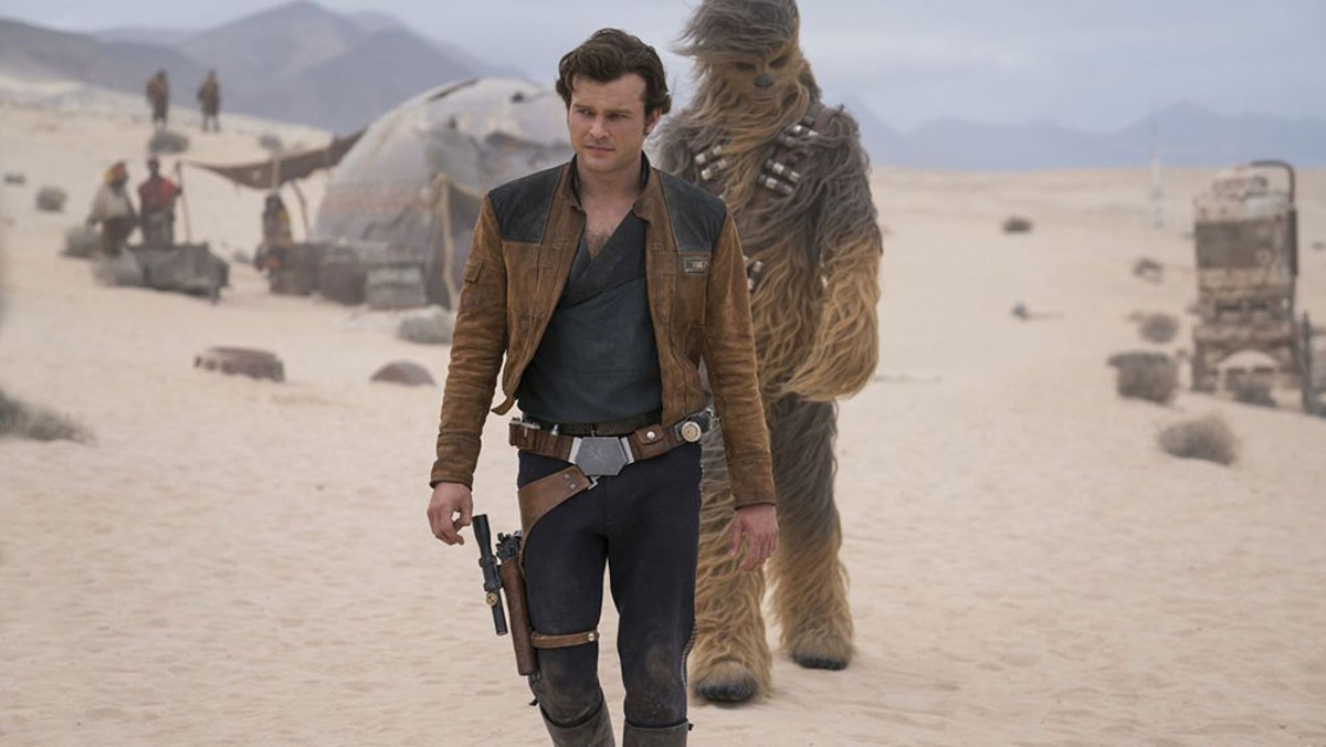 Alden Ehrenreich assumes the mantle of one of cinema's favorite characters in Solo: A Star Wars Story.