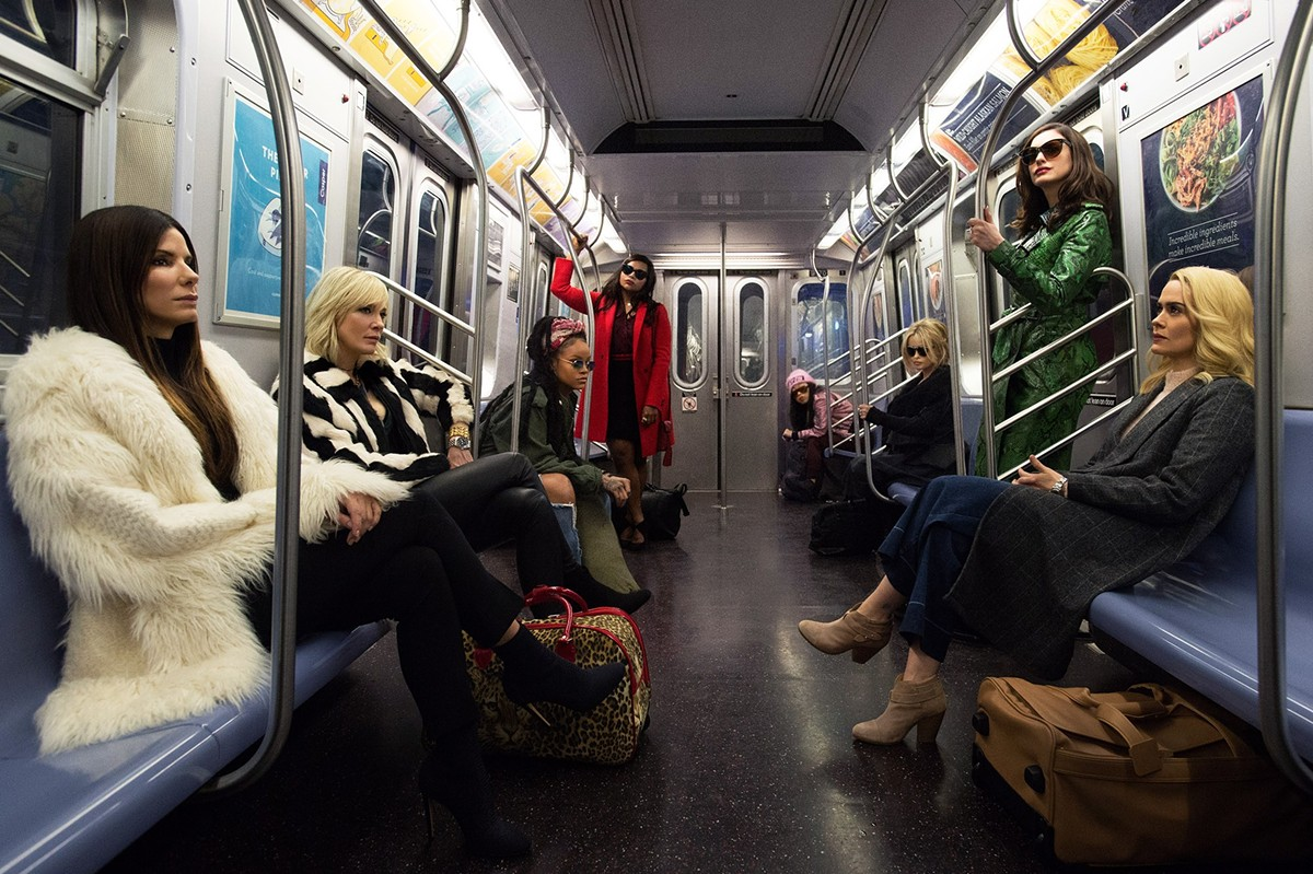 The women of Ocean's 8.
