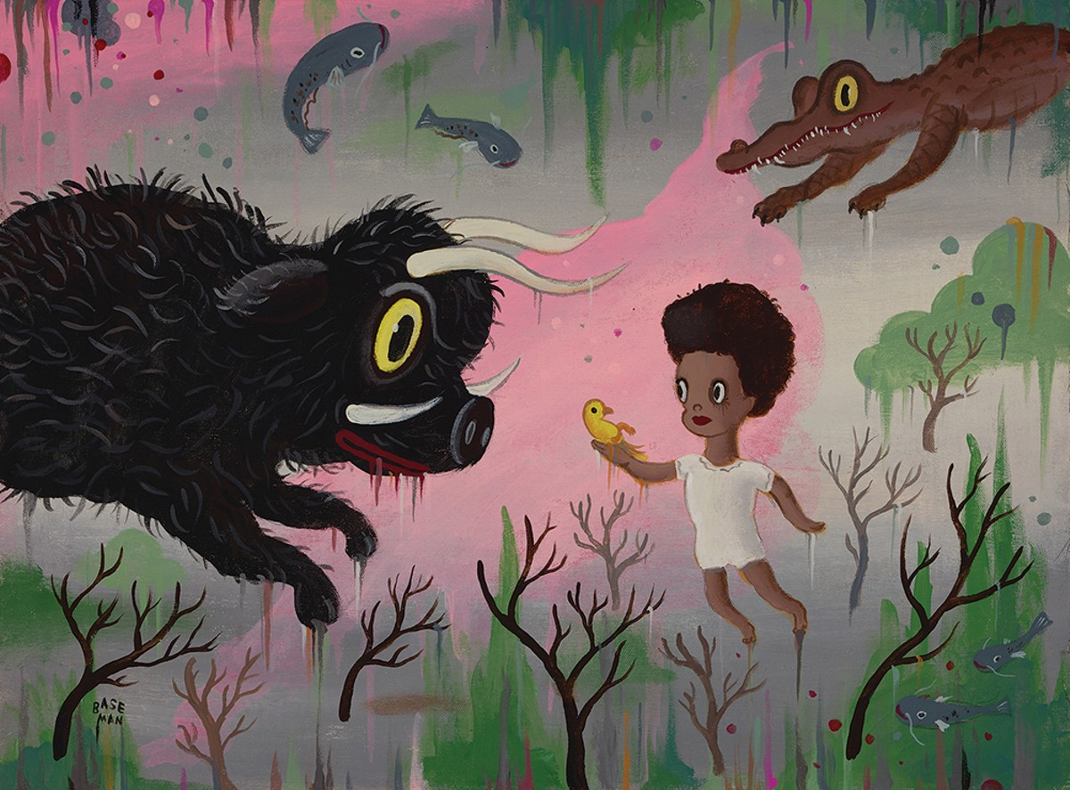 "Gary Baseman, ""Beasts of the Southern Wild,"" 2017."