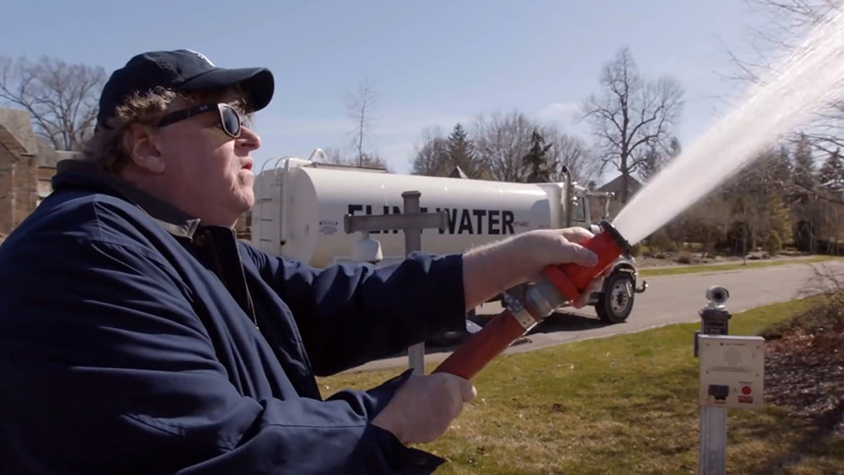 The cold, hard truth: Michael Moore delivers Gov. Rick Snyder a surprise in Fahrenheit 11/9.