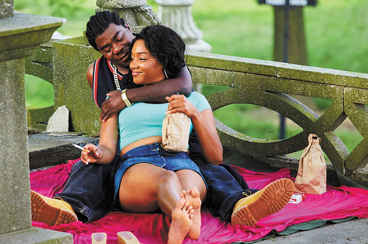 Tracy Morgan and Tiffany Haddish in The Last O.G.