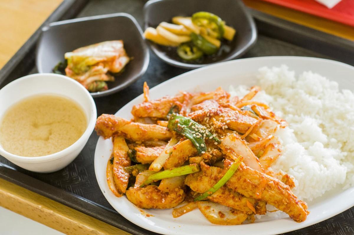 Chicken dupbab.