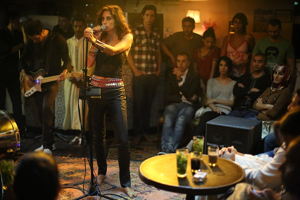 Yasmine Hamdan in Only Lovers Left Alive.