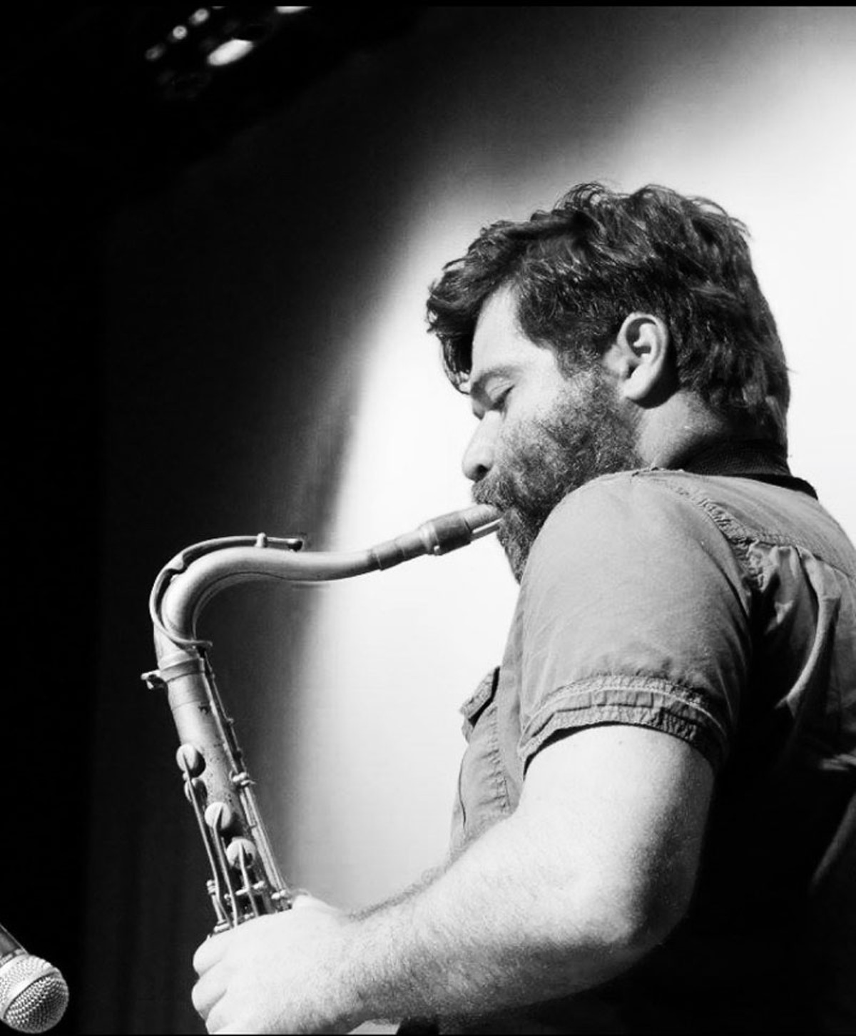 Saxophonist Bobby Muncy.