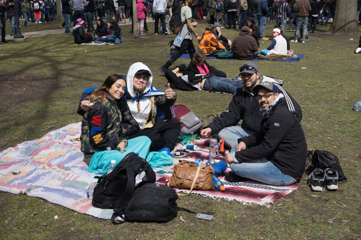 With its annual Hash Bash, Ann Arbor has been at the forefront of relaxed rules on public marijuana use.