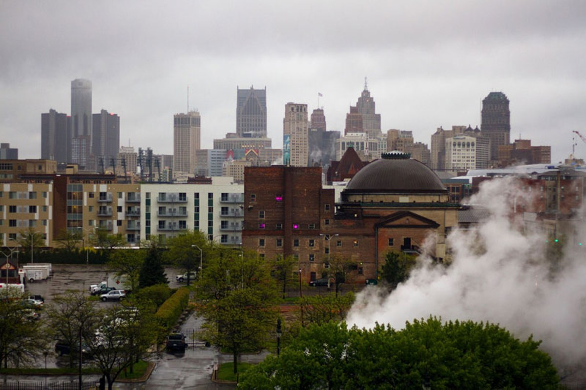 Detroit has seen a boom in new apartment complexes, though rent has skyrocketed.