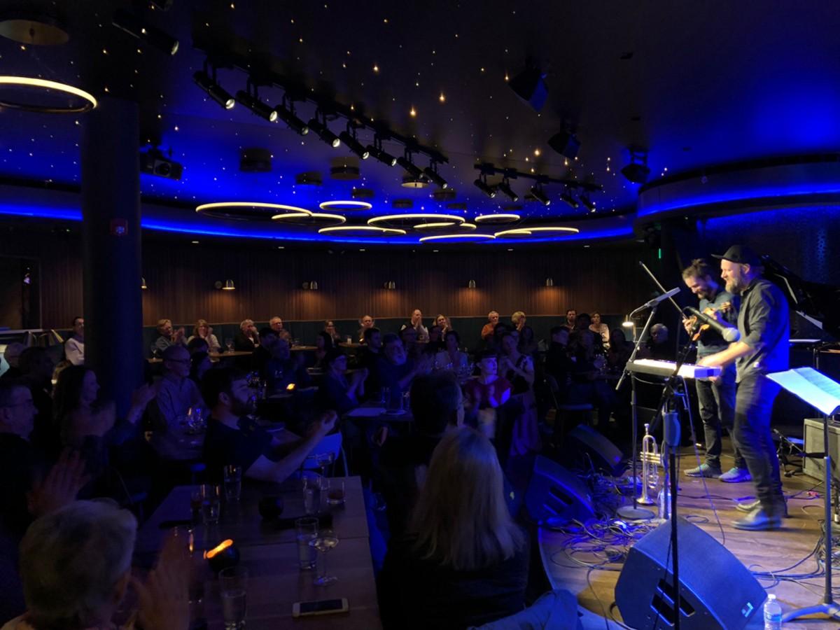 Mathias Eick performed at a soft launch for Ann Arbor's new Blue Llama Jazz Club.