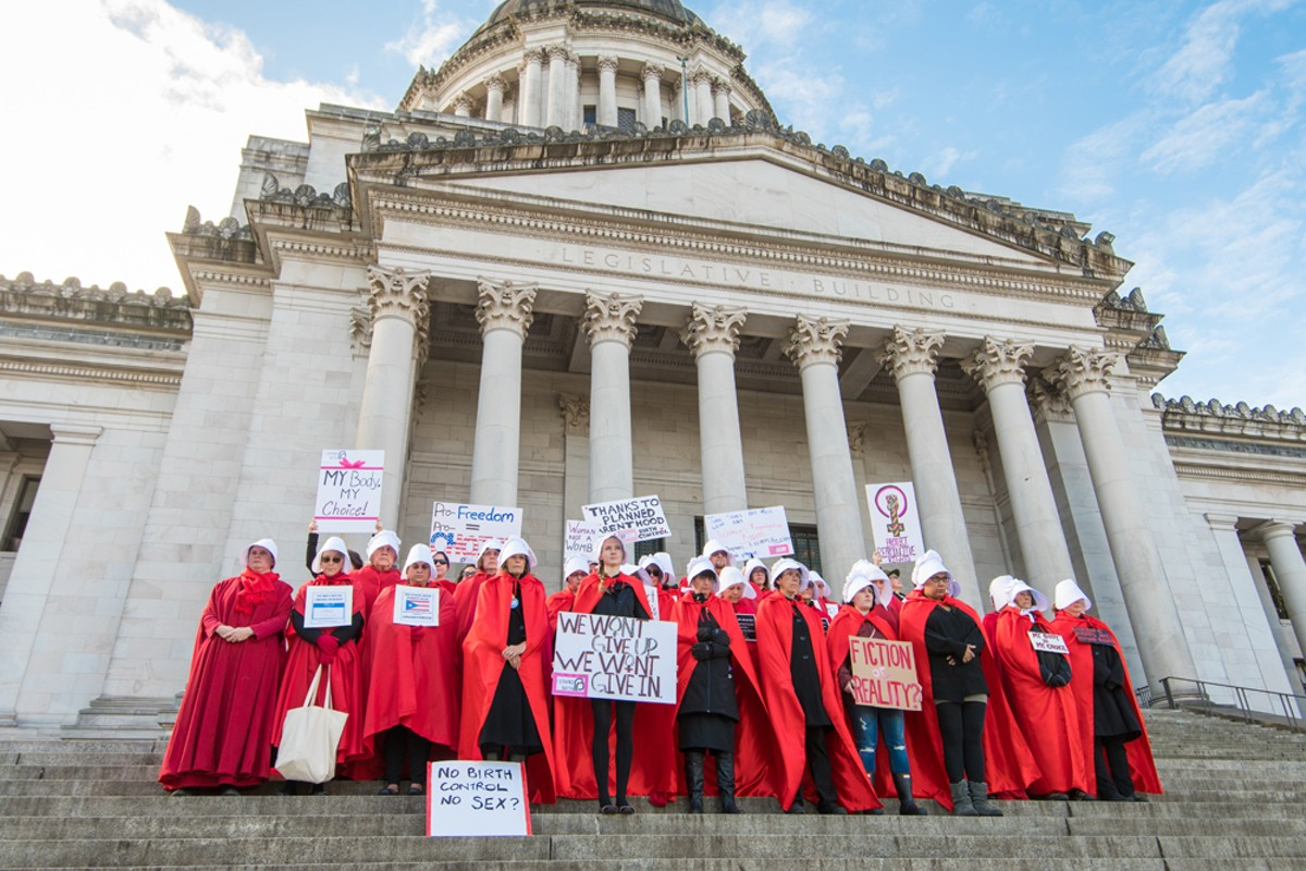 Welcome to Gilead: These abortion bans are straight out of The Handmaid's Tale.