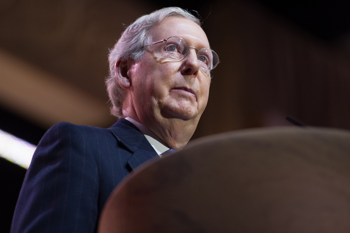 Mitch McConnell never owned a slave, but he's benefited from slavery and the institutions of White supremacy that followed. So have I. So has every White person in the United States.