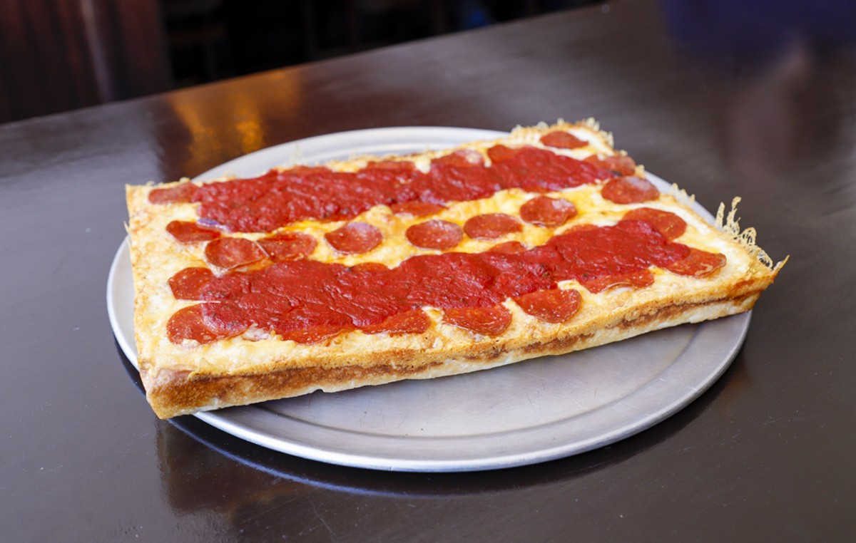 The classic Detroit-style pizza.