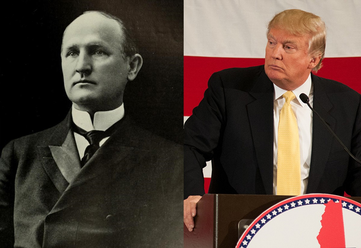 Charles Aycock was a white supremacist, but that's not the thing that most tightly binds him to Donald Trump. Instead, it's the authoritarian sense that the rule of law exists to further their interests and can be ignored when it restrains them.