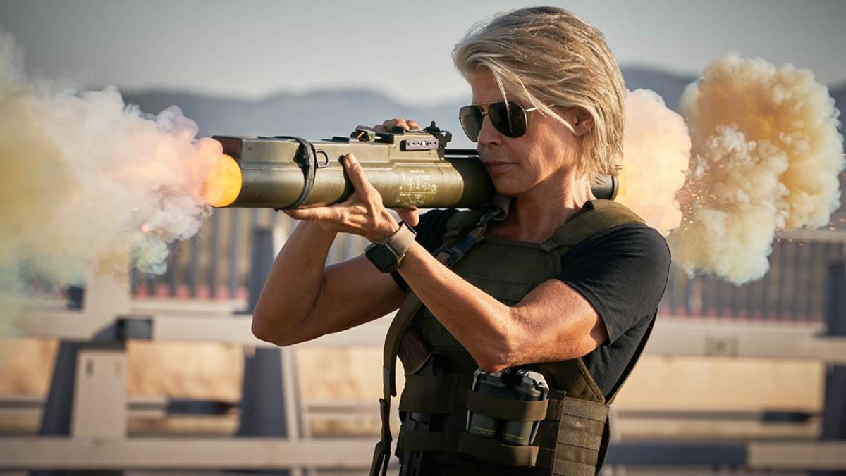 Linda Hamilton stars in Terminator: Dark Fate.