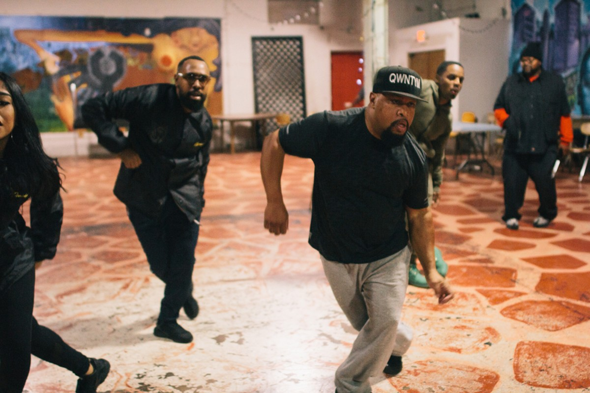 """This ain't ballet. This is a street dance — so it touches everybody."" Ron Ford keeps native Detroit dances alive as QWNTYM."