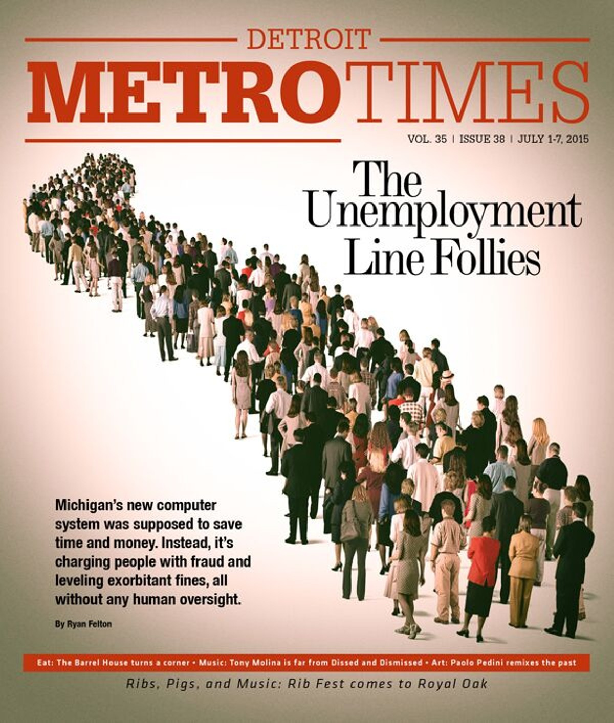 Criminalizing The Unemployed Local News Detroit Detroit Metro Times
