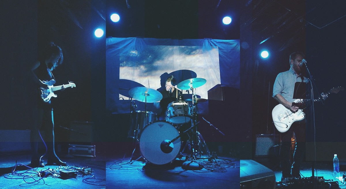 Anastasiya Metesheva, Ben Collins, and Sean Lynch perform live as 800beloved.