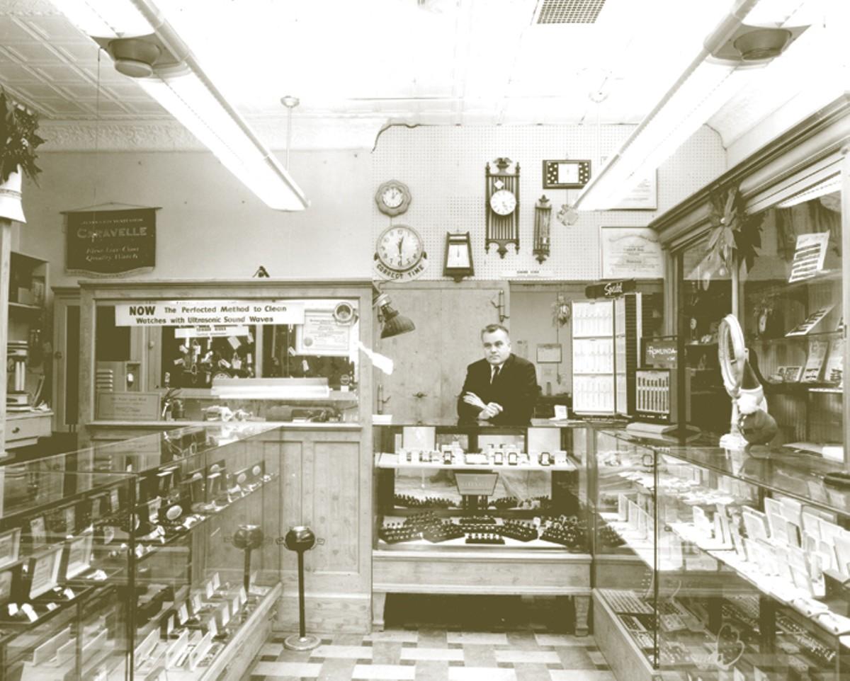Ed Kiska in his shop.
