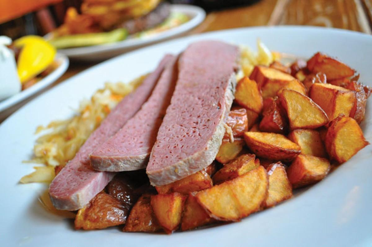 Corned beef at Dick o'dows