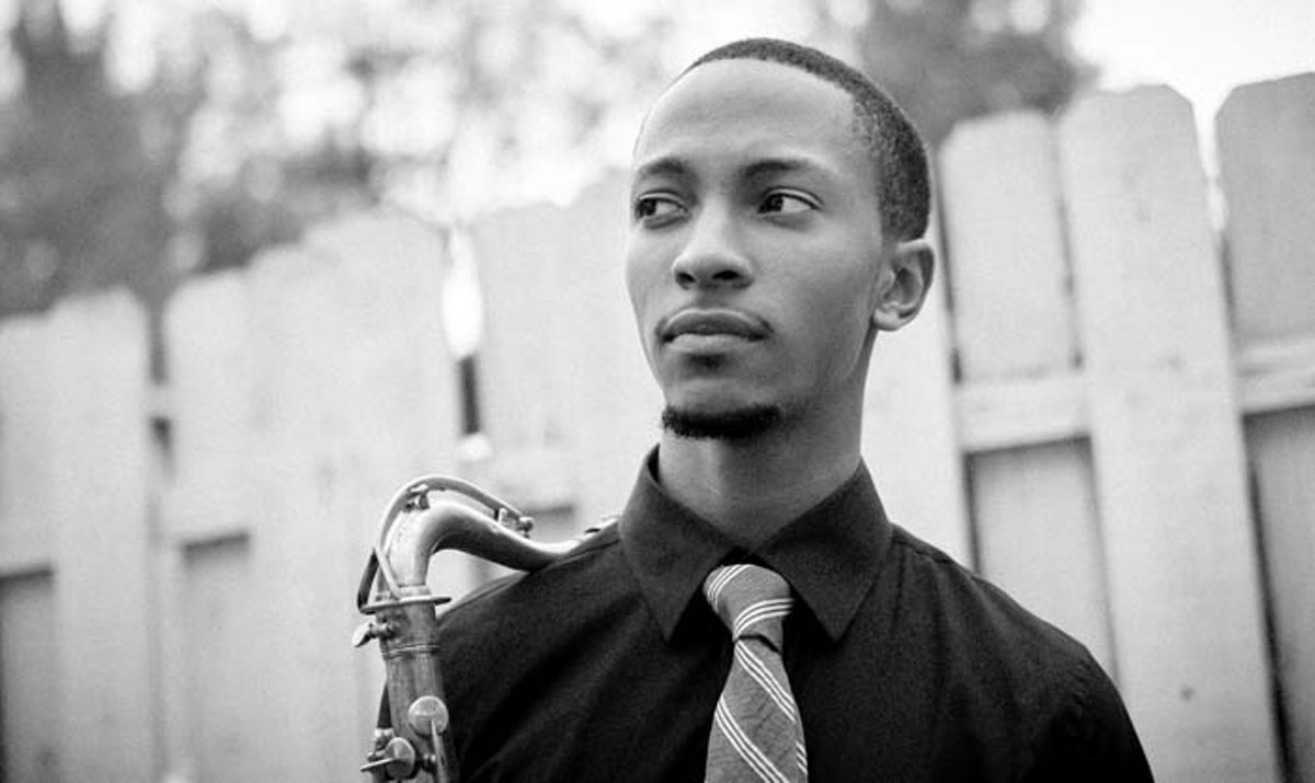 Jazz newcomer Marcus Elliott regularly performs at Cliff Bell's.