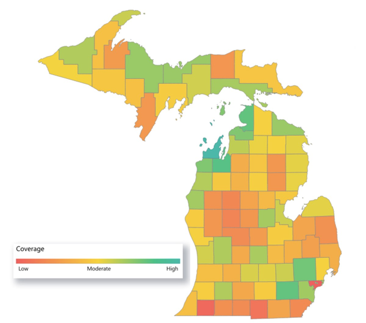 Vaccinations lag in Detroit: 55% of Michigan residents have received at least one dose of the COVID-19 vaccines, while only 24% of Detroiters have.
