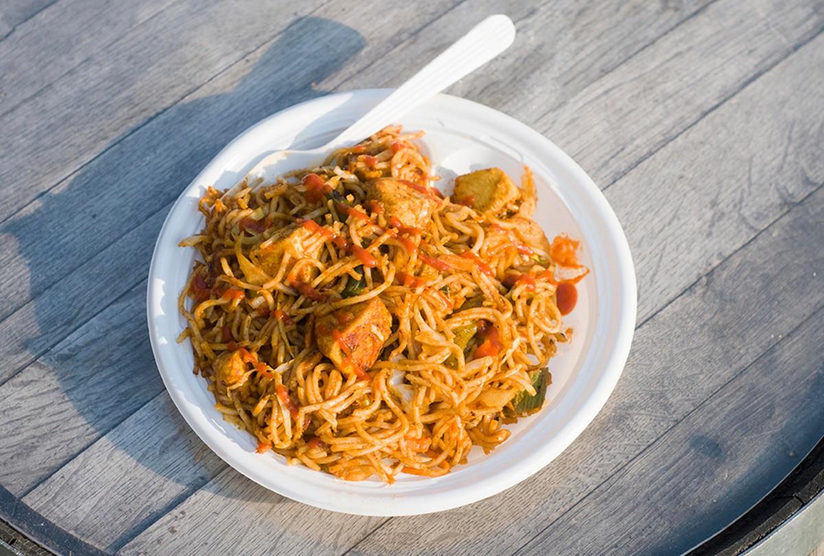 Hakka noodles.